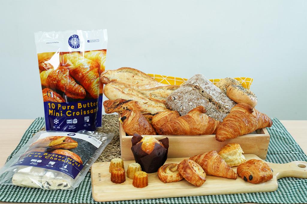 【冷凍麵包】免運費!5星級酒店麵包供應商推法國直送零售急凍裝 高質牛角包平均賣$6超抵食