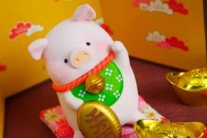 【Lulu豬 香港|罐頭Lulu豬公仔】罐頭Lulu豬陪大家過新年 招財LuLu豬/大吉豬仔/御守/新年徽章