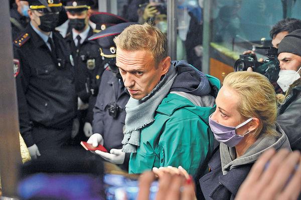 曾中毒俄反對派領袖 回莫斯科後被扣留