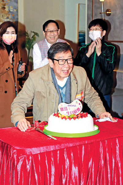 胡楓89歲生日 湯盈盈兌現10年承諾