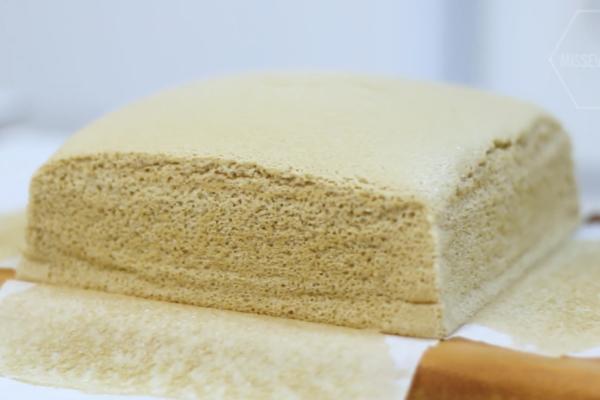 【蛋糕食譜】4步簡易整出人氣甜品! 咖啡味古早蛋糕食譜