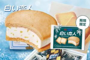【日本便利店2021】日本森永聯乘白之戀人雪糕批 白朱古力雪糕三文治+ 白色戀人拿鐵
