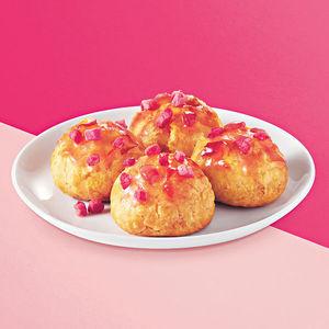 去KFC歎草莓葡撻和迷你鬆餅 陪你甜蜜過節