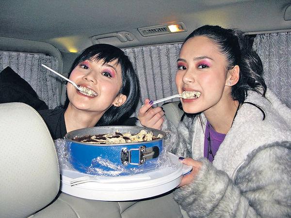 阿嬌40歲生日阿Sa舊相賀壽