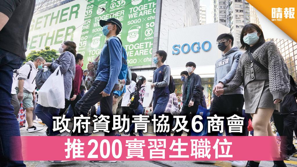 疫下實習|政府資助青協及6商會 推200實習生職位