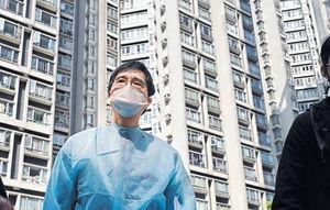 麗港城5座疑現垂直傳播 全幢E室撤離 一周10確診 需二度強檢
