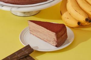 【台灣甜品2021】Lady M 香蕉朱古力千層蛋糕台灣新登場 另有酸甜紅桑子黑朱古力蛋糕!