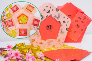【新年禮盒2021】Lady M新年糖果禮盒 6款糖果朱古力/送牛年珊瑚粉利是封!