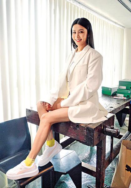陳欣妍為搵錢克服畏高