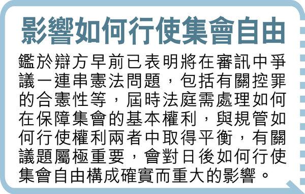 黎智英等9人涉非法集結 余若海任主控 將與胞姐余若薇對壘