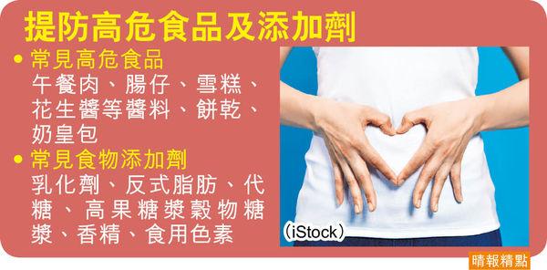 食物添加劑 致腸道菌失衡 炎症性腸病 新症10年激增30倍