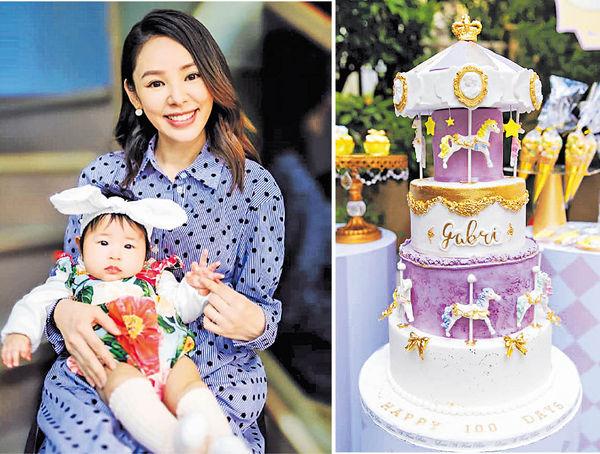 Baby G 出世100日 譚凱琪因女兒變得更完整