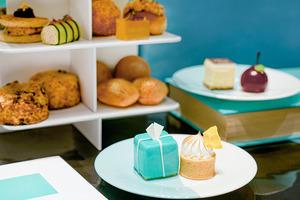 【外賣下午茶】尖沙咀Tiffany Blue Box Cafe首推外帶下午茶 三層架歎13款鹹甜點/鬆餅