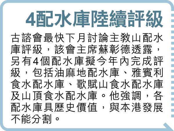 主教山配水庫擬有限度開放公眾 陳智思:保育與發展要平衡