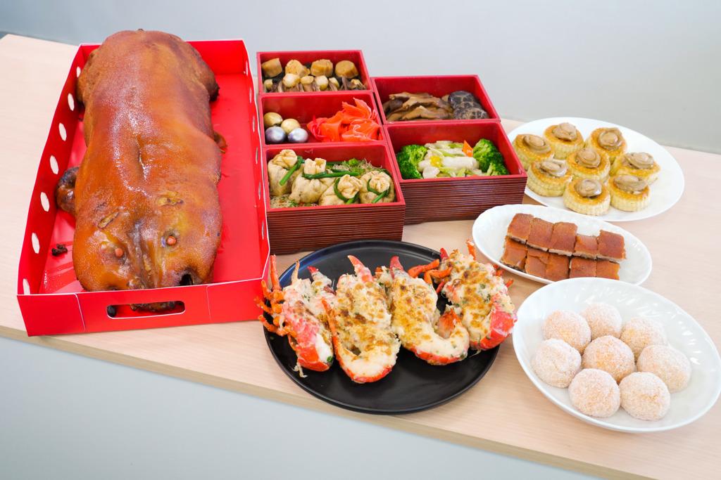 【新年2021】2021農曆新年團年飯/開年飯外賣套餐菜單  68折北京片皮鴨/燒乳豬/芝士焗龍蝦
