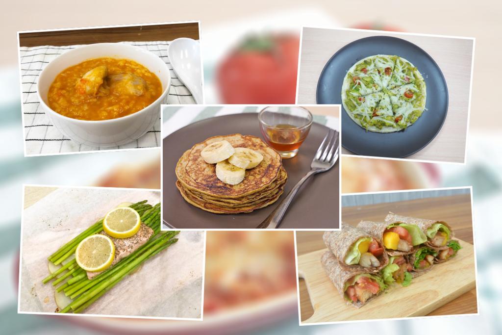 【健康食譜】6款低卡減肥懶人健康食譜 牛油果薄餅/香蕉班戟/紙包三文魚/雞肉芒果卷