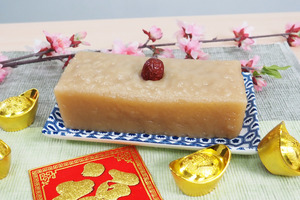 【新年食譜】3步簡易輕鬆整新年傳統賀年糕點  蔗糖椰汁年糕食譜