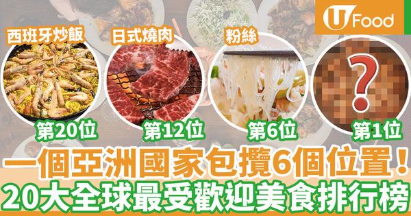 【美食排行榜】2021年20大全球最受歡迎美食排行榜  牛角包第10/拉麵第4/粉絲竟可打入十強!