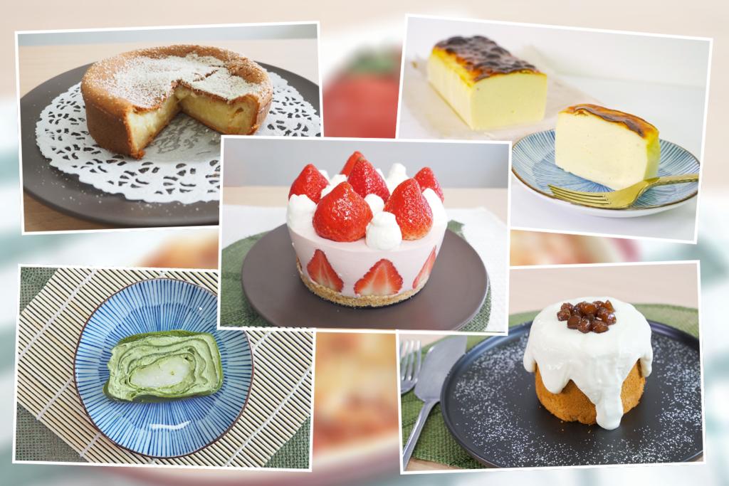 【生日蛋糕食譜】8款新手必試靚靚打卡生日蛋糕  戚風蛋糕/草莓芝士蛋糕/抹茶千層蛋糕/朱古力慕絲蛋糕