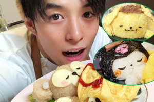 【IG爆紅卡通料理】日本靚仔暖男自製卡通蛋包飯超治癒! 為小熊維尼/布甸狗/Hello Kitty蓋上流心蛋被子~