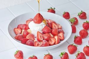 【日本甜品】日本Flipper's聯乘Häagen-Dazs推出新甜品 增量版極上甜王士多啤梨梳乎厘班戟