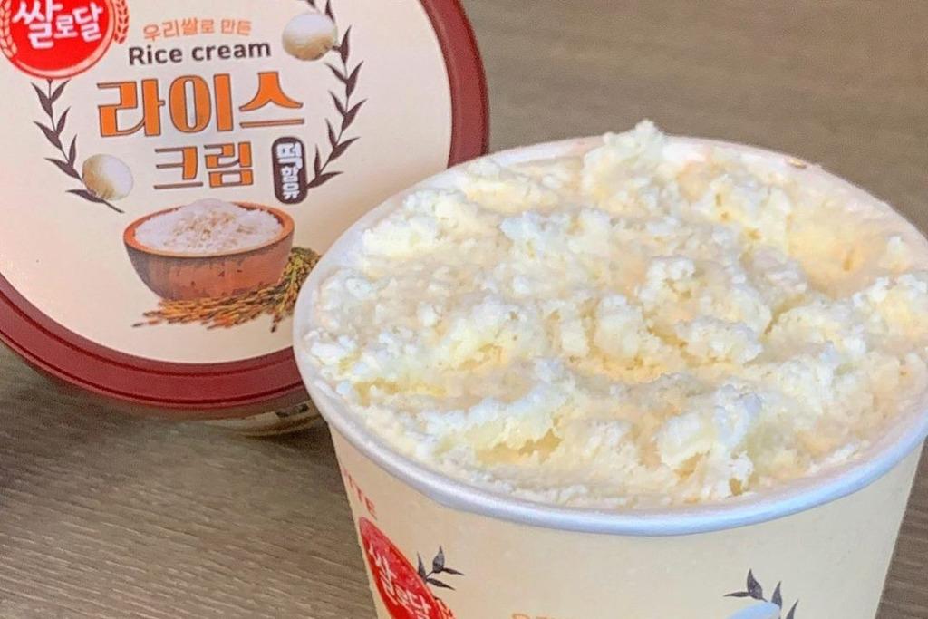 【韓國甜品】韓國樂天推出超吸引新品  香甜軟糯大米忌廉雪糕!