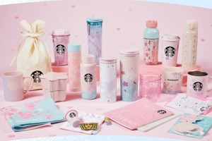 【日本Starbucks】日本Starbucks推出2021年春季系列   夢幻櫻花杯/士多啤梨奶凍星冰樂