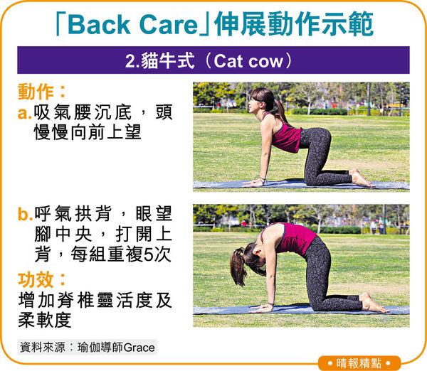Back Care瑜伽伸展 紓緩肩頸背繃緊