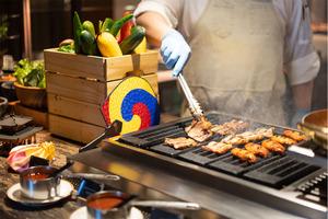 【酒店自助餐2021】北角海景酒店推出韓國主題自助餐   韓燒吧/泡菜五花腩包/炸雞/年糕甜品