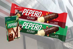 【便利店新品】韓國PEPERO百力滋雪糕批登陸便利店!樂天杏仁朱古力雪糕批/花生朱古力雪糕批