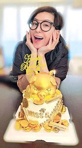伍詠薇52歲生日 陳山聰:祝日日燙銀紙