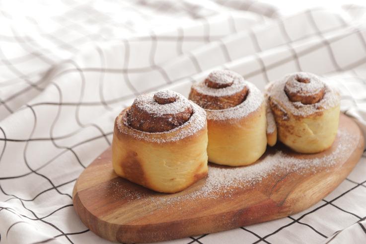 【麵包食譜】自家製美式肉桂卷 鬆軟口感+濃郁肉桂香