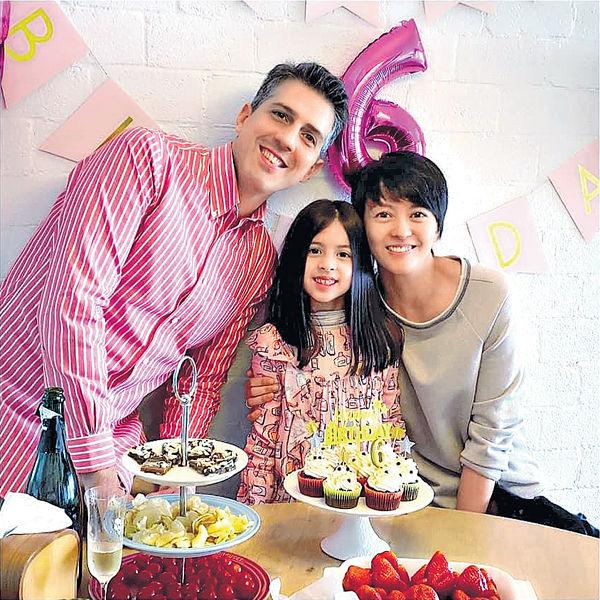 Sofia 6歲生日梁詠琪盼愛女快樂自在