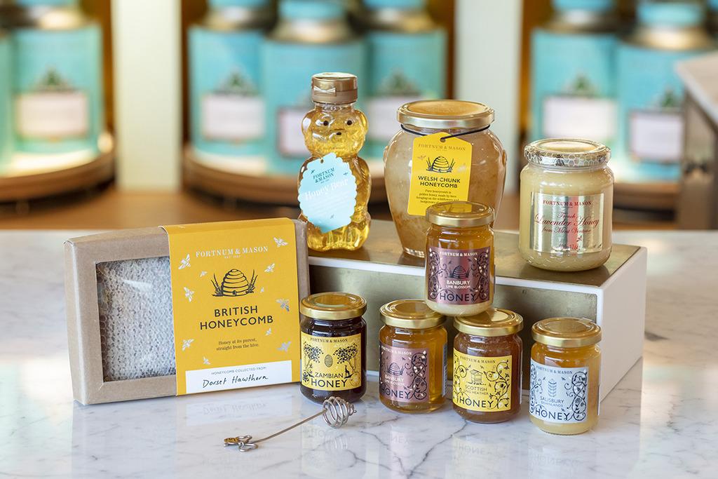 【】Fortnum & Mason春日蜂蜜系列 自行養蜂採蜜!原塊蜂蜜/蜂蜜茶/蜂蜜伯爵茶曲奇