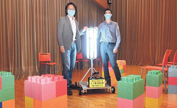 紫外光機械人消毒 快人手5倍 清潔400呎場所 僅10分鐘