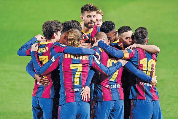 巴塞反勝西維爾 晉西班牙杯決賽