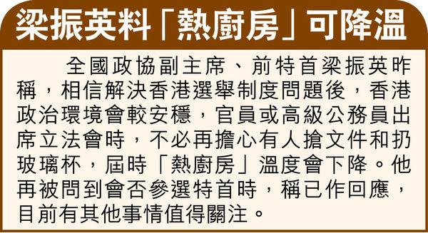 人大會議商完善港選舉制度 特首選委擬增至1500人
