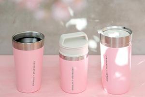 【日本Starbucks】日本Starbucks聯乘Stanley推出櫻花系列   夢幻簡約粉紅隨行杯!