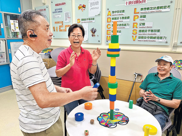長者玩玩具 防腦退化 緩減病情