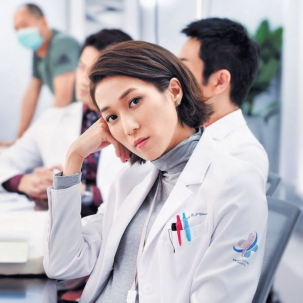 鍾嘉欣未聞無綫開拍《法證V》