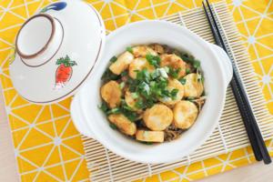 【玉子豆腐食譜】撈飯一流!惹味玉子豆腐金菇煲食譜 15分鐘完成新手家常菜