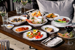 【酒店Brunch】尖沙咀酒店Rosewood推出假日早午餐menu 生蠔海鮮拼盤/牛油果多士/黑松露意粉/肉眼牛扒