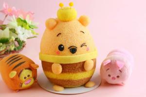 【Winnie the Pooh】可愛小熊維尼戚風蛋糕卡通料理 圓碌碌Pooh Pooh可愛爆燈!