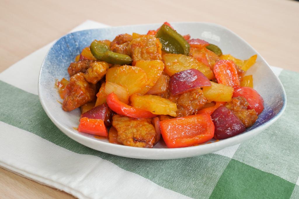 【氣炸鍋食譜】免油炸!氣炸鍋簡單5步就做到 酸甜開胃咕嚕肉