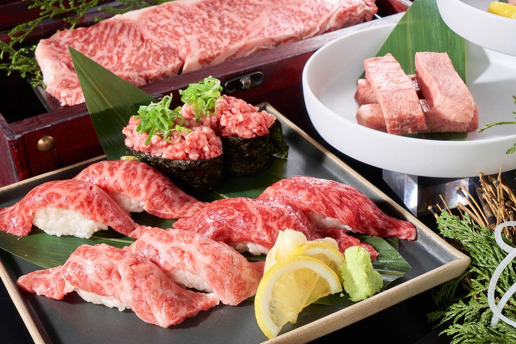 【燒肉放題】佐敦新開日式放題燒肉店和牛燒肉一郎 鹿兒島A4和牛/任食壽司海鮮/清酒櫃/智能送餐