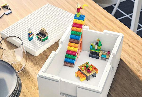 IKEA X LEGO 創意實用貯物盒