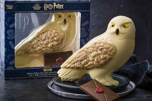 【復活節優惠】買3送1優惠!馬莎2021年復活節系列  哈利波特Hedwig造型朱古力/流心朱古力蛋