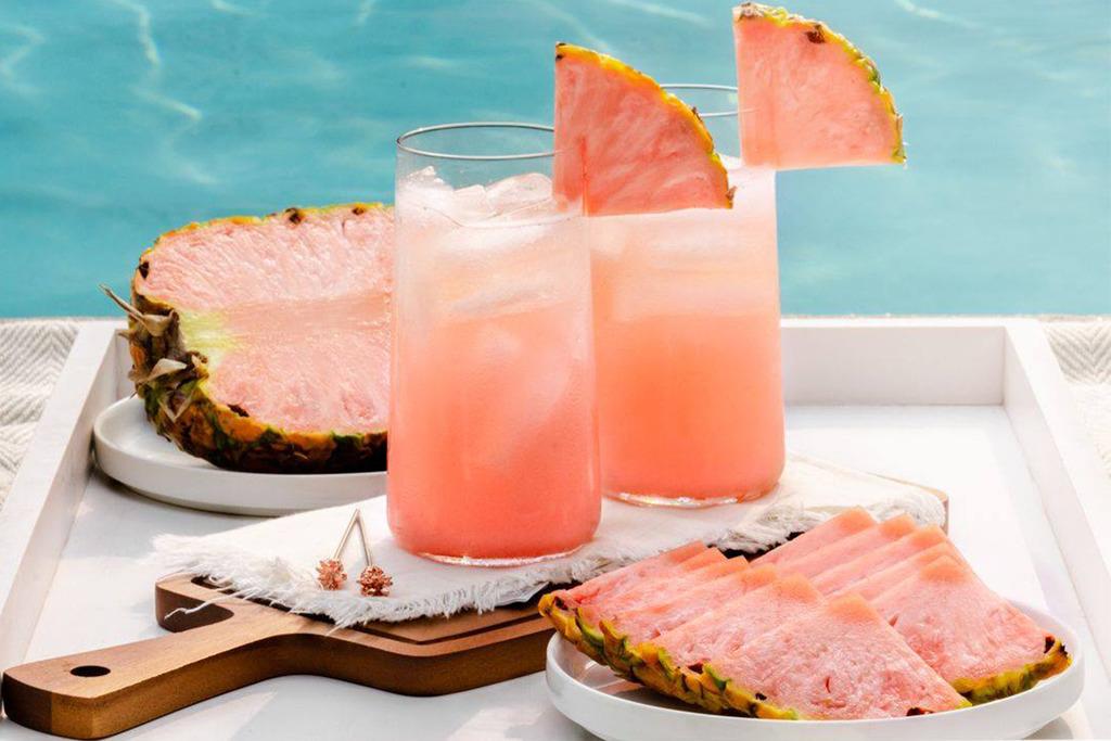 【粉紅菠蘿】美國IG大熱打卡粉紅鳳梨 新品種Pinkglow帶棉花糖甜香