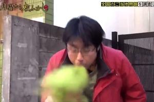 【日本甜品】超搞笑!日本節目街訪試食抹茶雪糕   抹茶粉太濃厚令路人全被嗆到