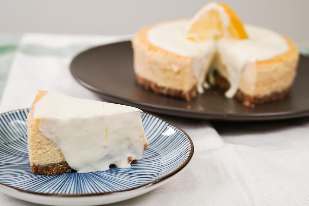 【new york cheesecake做法】特濃檸檬紐約芝士蛋糕食譜 新手零難度4步做出經典蛋糕